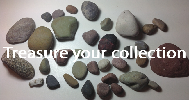 Treasure your collection